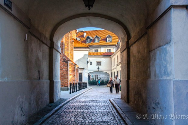 Old Town Alley, Warsaw