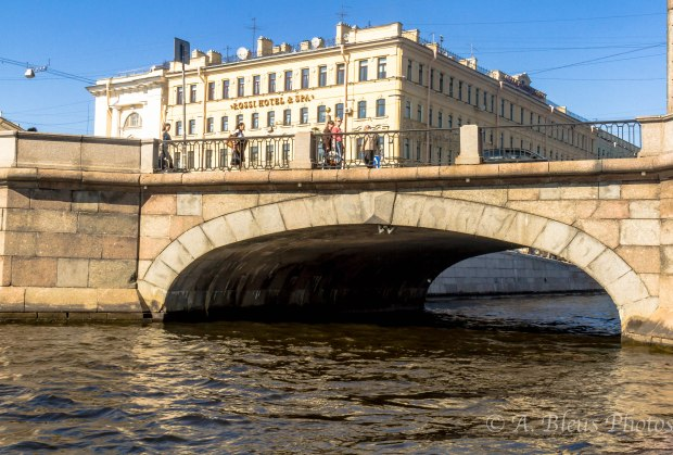 Bridge & Canal on Neva River, St. Petersburg