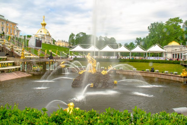 The Grand Cascade at Peterhof Palace, St. Petersburg