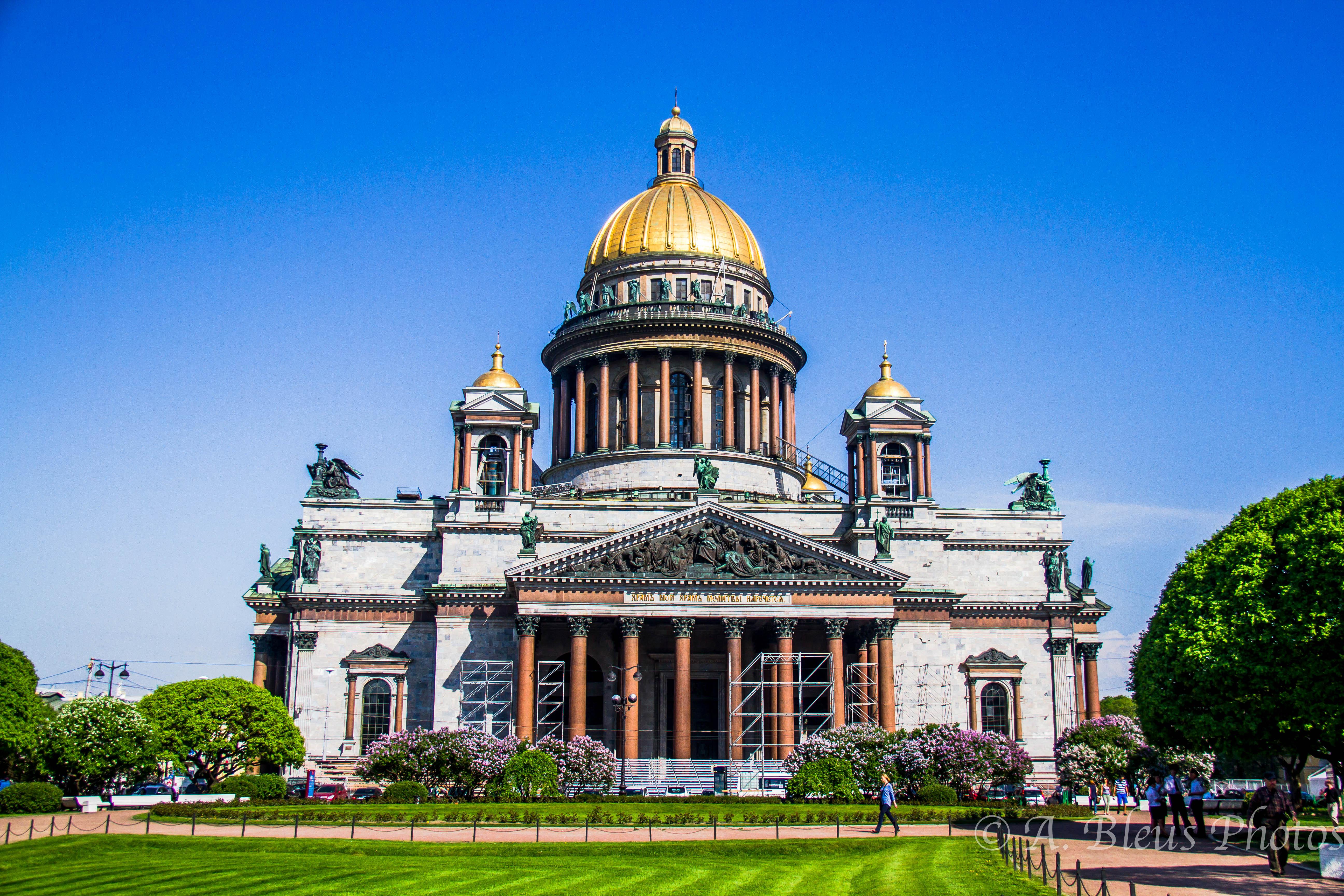 Saint Petersburg Russia  city photos : St. Isaac Cathedral, St. Petersburg, Russia | alixbleus