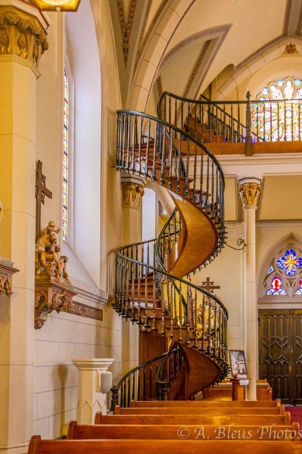 Loretto Chapel Miraculous Staircase, Santa Fe