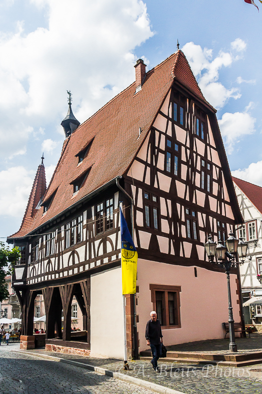 Old Town Hall, Michelstadt, Germany_ 5836