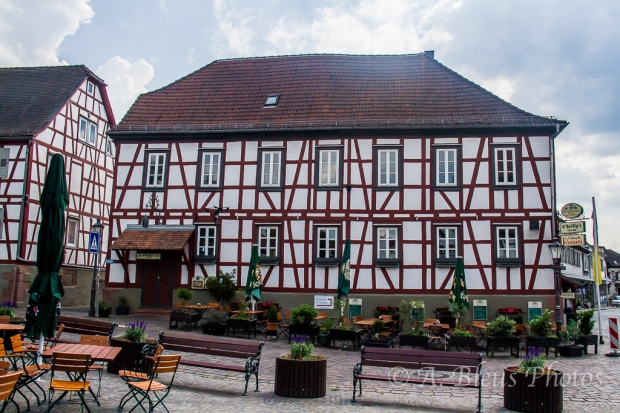 Restaurant-Outdoor Café, Michelstadt, Germany