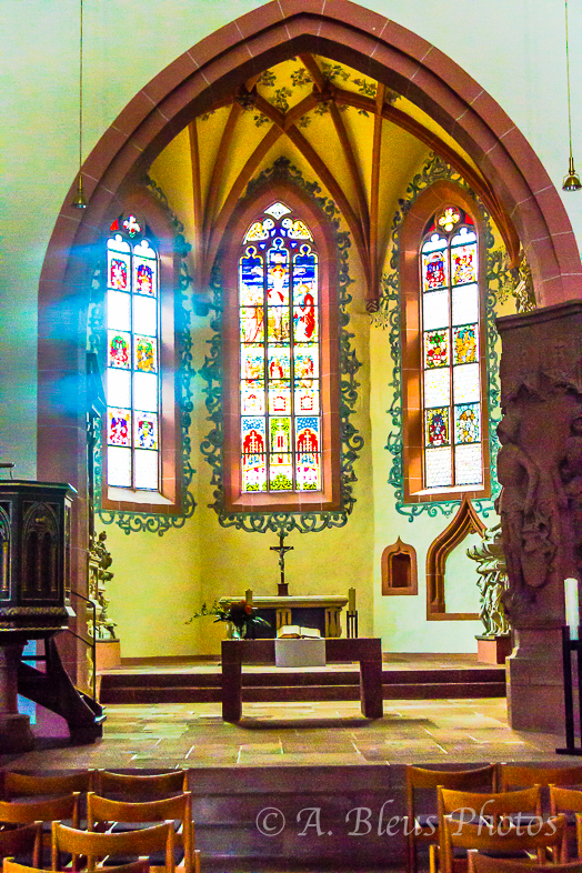 The Reformed Church Altar, Michelstadt, Germany