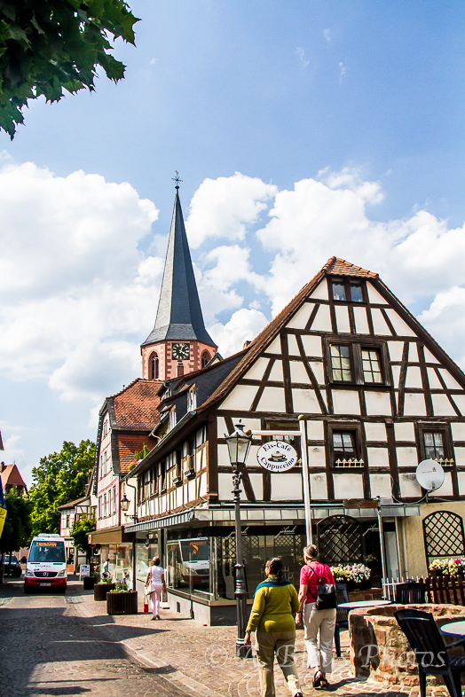 Town of easy stroll, Michelstadt, Germany