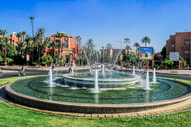 Fountain in Marrakesh, Morroco