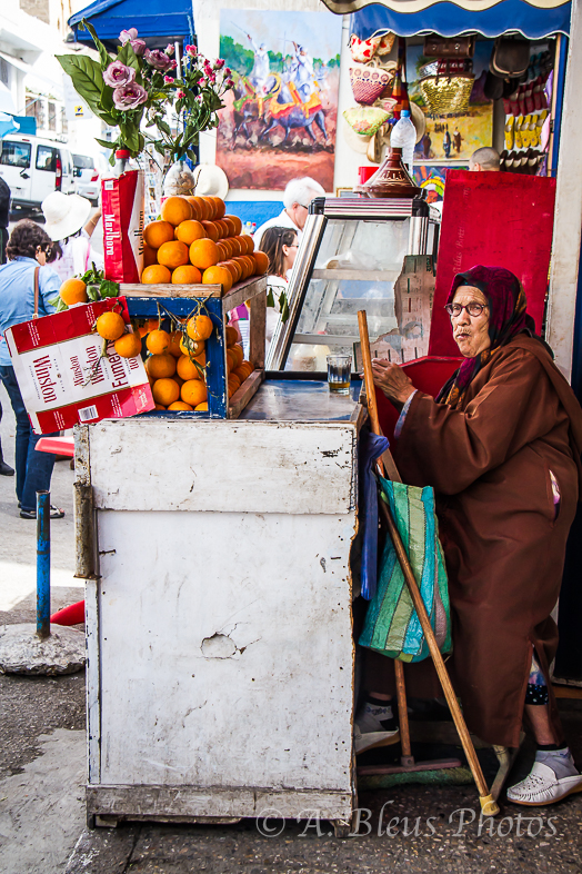 Fruit Seller,  Morocco