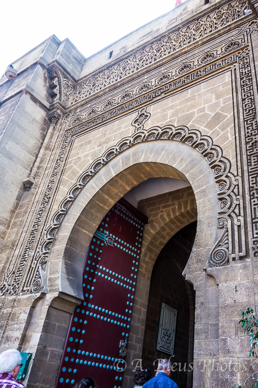 Main Entrance of Mahkama du Pacha, Casablanca, Morocco