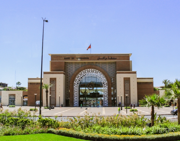 Marrakesh Railway Station, Morocco