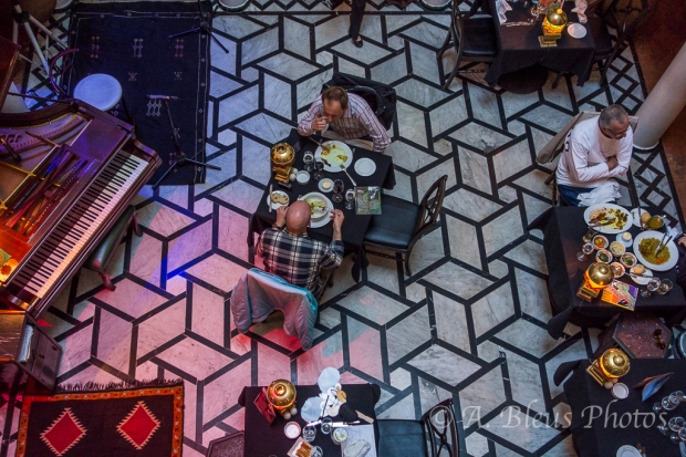 Rick's Café Interior view Casablanca, Morocco