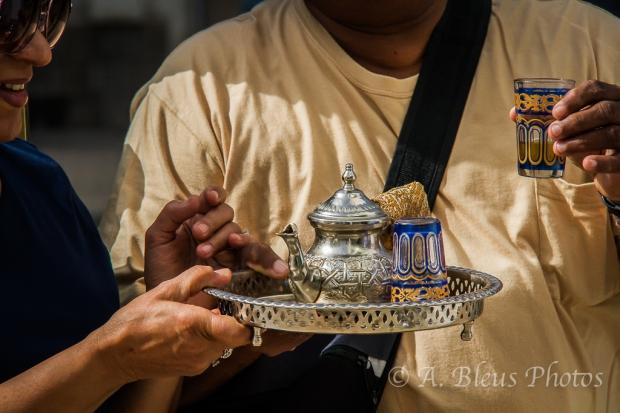 Tea time in Rabat,  Morocco