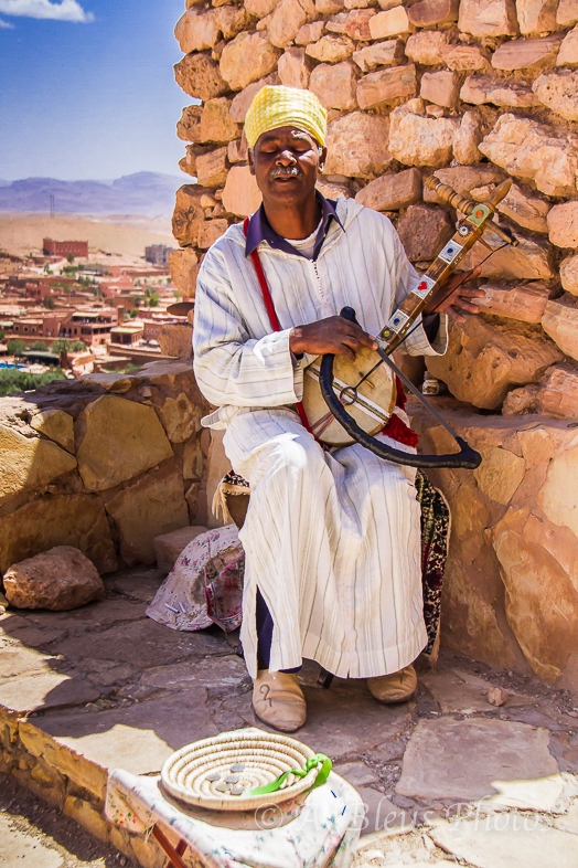 The Man and his Instrument, Morocco