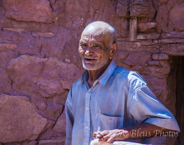 The Old Moroccan Peasant