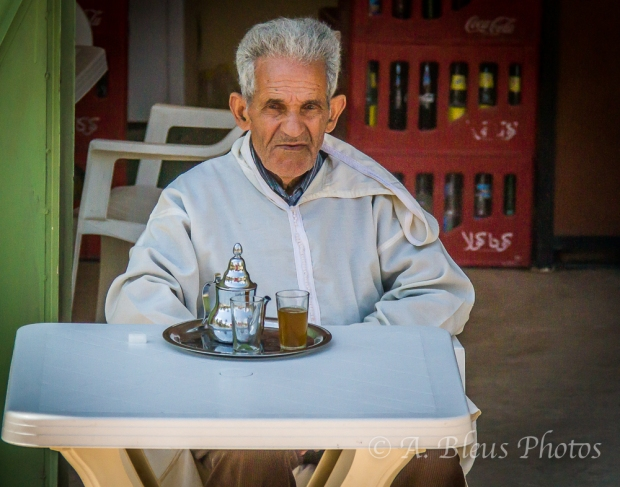 The Tea Drinker, Morocco