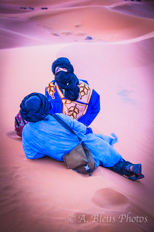 Tuareg of the Sahara, Morocco