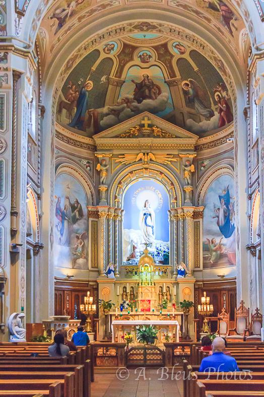 Chapelle Notre-Dame-de Lourdes Altar, Montreal, Canada