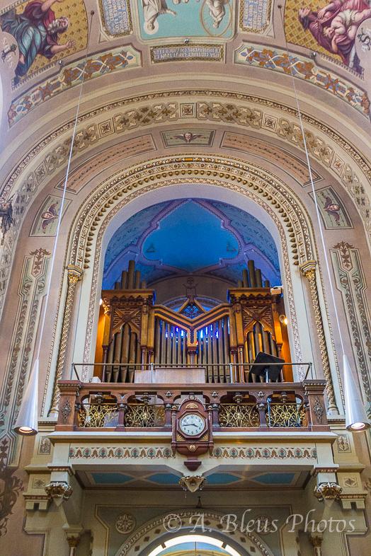 Chapelle Notre-Dame-de Lourdes Organ, Montreal, Canada