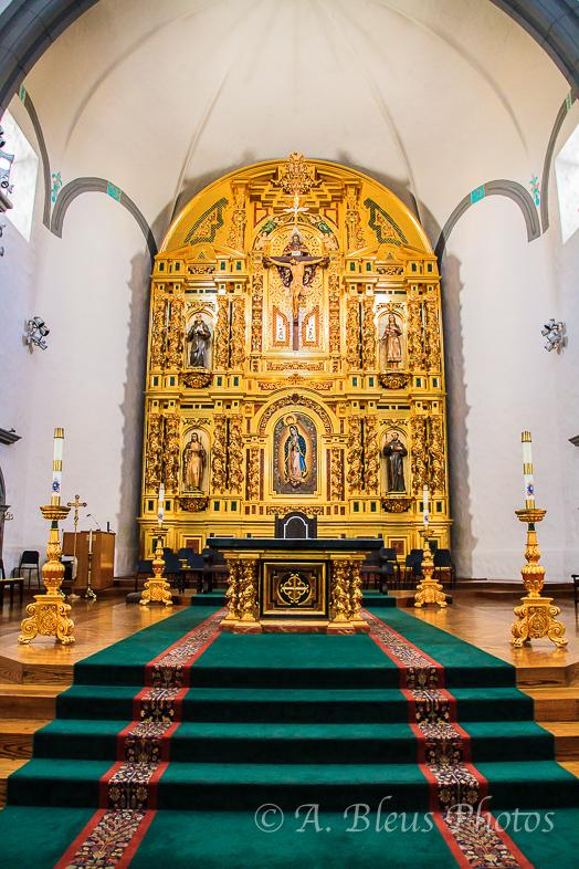 Mission San Juan Capistrano Altar, California_7267