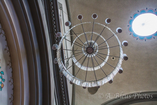Mission San Juan Capistrano Light Fixture, California_7265
