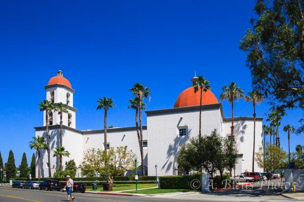 Mission San Juan Capistrano's Basilica, California