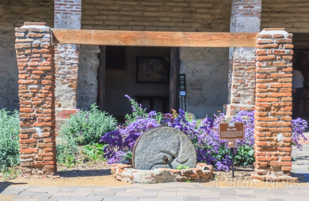 Mission San Juan Capistrano's Olive Mill, California
