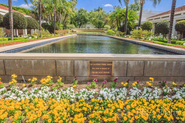 Reflecting Pool, R. Nixon Library, Yorba Linda, California