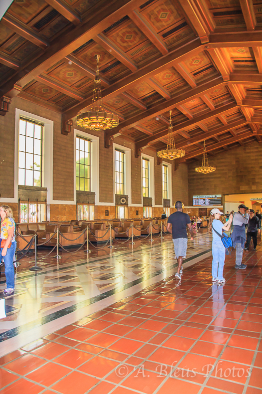 Union Station Interior, Los Angeles, California_7382