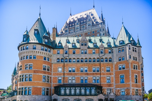 Chateau Frontenac Front, Quebec, Canada