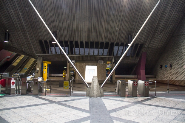 Metro Station Entrance, Montreal