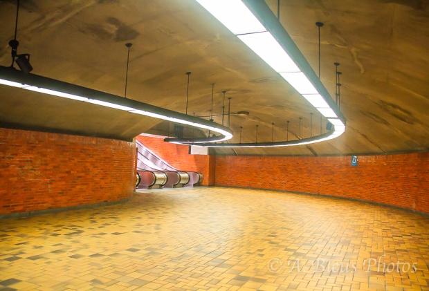 Metro Station Interior, Montreal