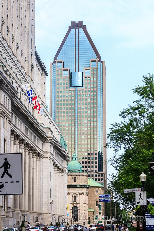 Skyscraper in Montreal, Canada