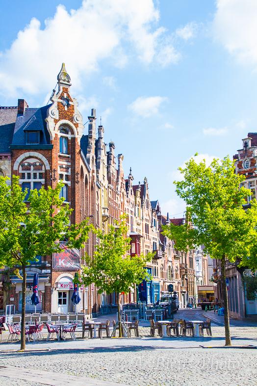 Building Façades, Gent, Belgium