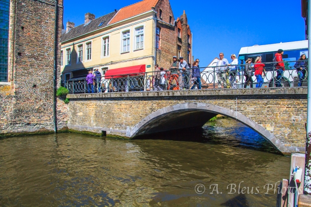 Canal in Brugge Belgium