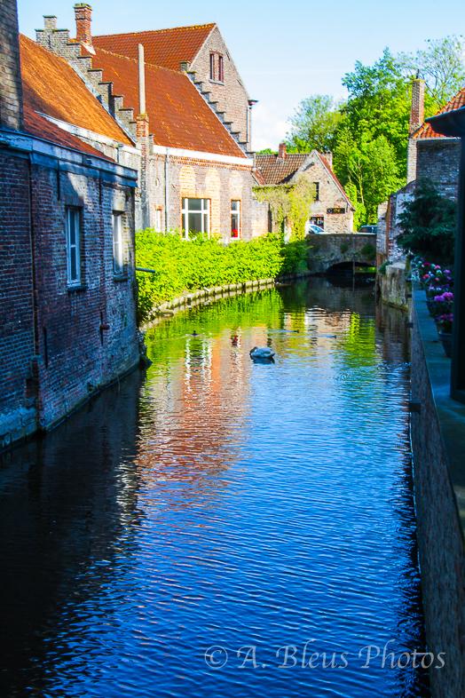 Canal of Bruges Belgium