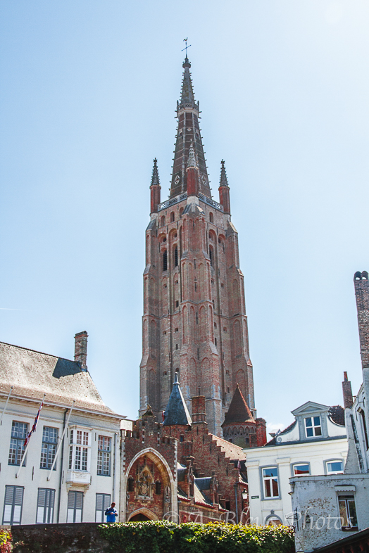 Church of our Lady in Brugge, Belgium