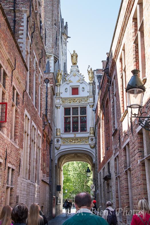 Pedestrian Walkway MG 8974, in Brugge, Belgium