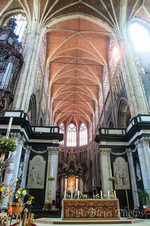 St. Bavo Cathedral Altar, Ghent Belgium