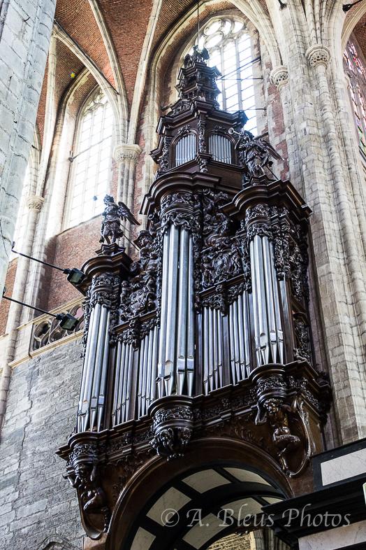 St. Bavo Cathedral Organ, Ghent Belgium