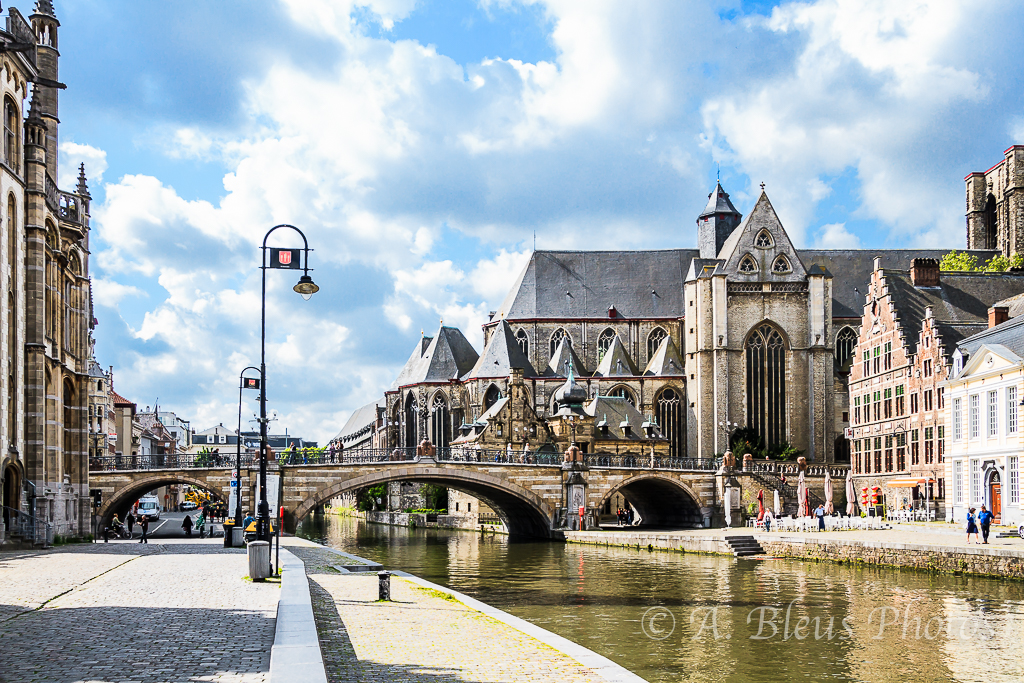 Ghent Belgium  City new picture : St. Michael's Church, Ghent, Belgium | alixbleus