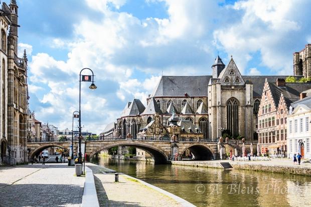 St. Michael Church, Ghent Belgium
