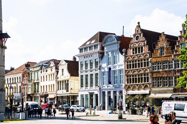 Street & Building Façades, Gent, Belgium