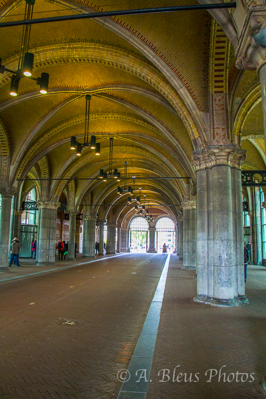 A Street runs through it -Rijksmuseum Building, Amsterdam_