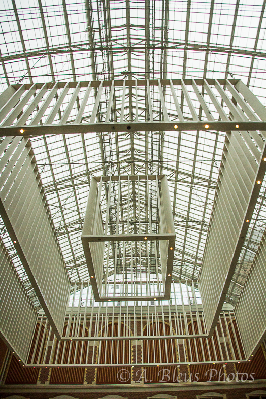 Lobby Ceiling at Rijksmuseum Building, Amsterdam