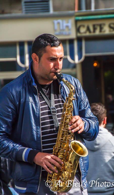 Street Musician, MG_9146, Amsterdam