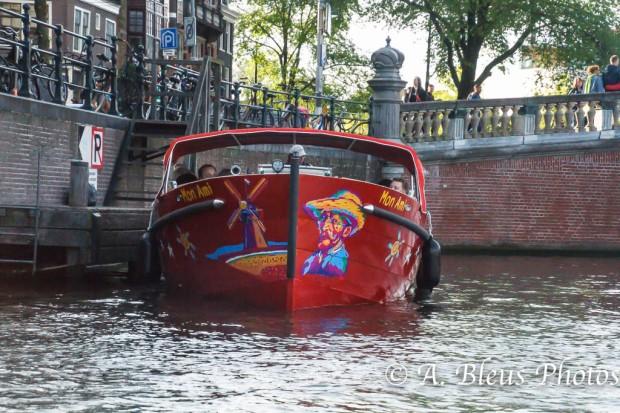 Cruise Boat, Amsterdam