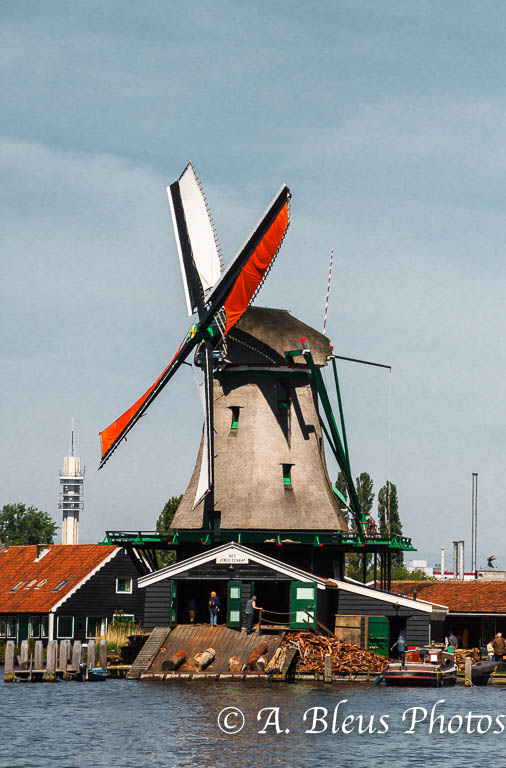 Zannse Schans Windmill MG_9258, Holland