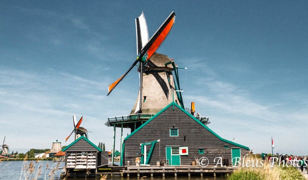 Zannse Schans Windmill MG_9259, Holland