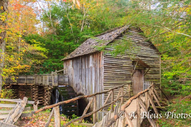 Cades Cove Historic structure - Great Smoky Mountains, NC _9886