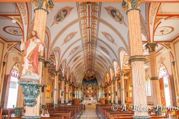 San Rafael Church Nave, Zarcero, Costa Rica