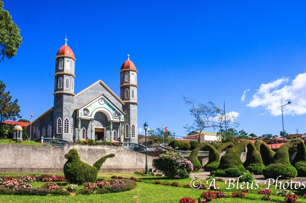 San Rafael Church, Zarcero, Costa Rica